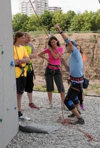 05 eine ganze Familie will klettern lernen